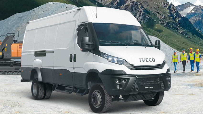Новое поколение Iveco Daily 4x4