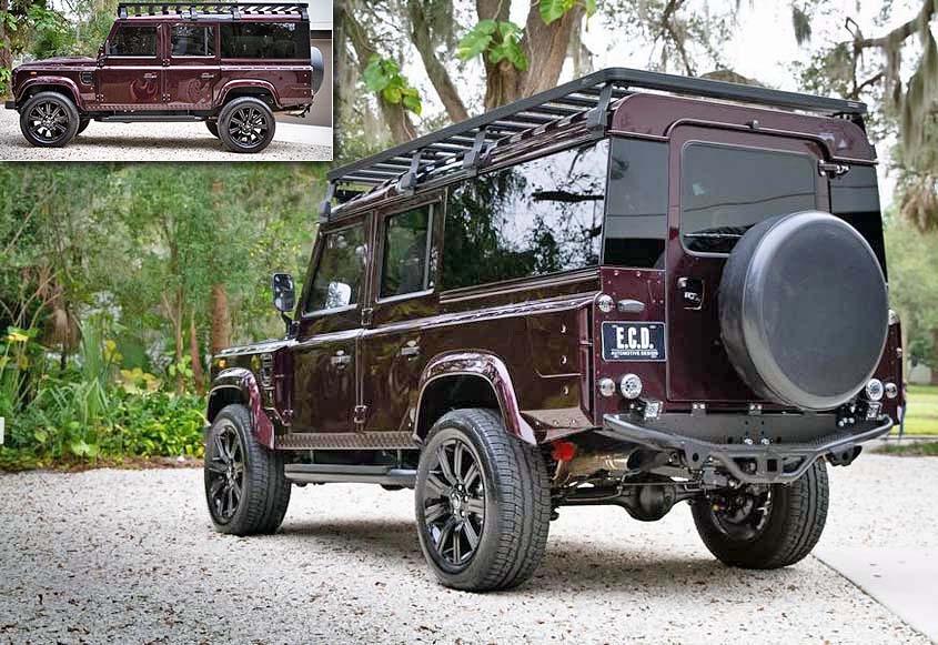 ECD Land Rover Defender 110 «Project Camper»