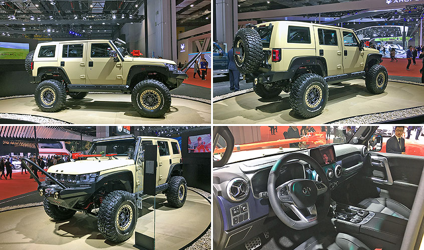 BAIC BJ40L Plus
