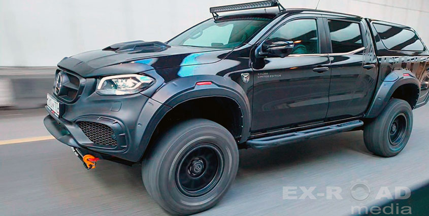 Mercedes-Benz X-Class Limited Edition