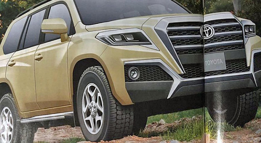 Toyota Land Cruiser 300 по версии автомобильного журнала