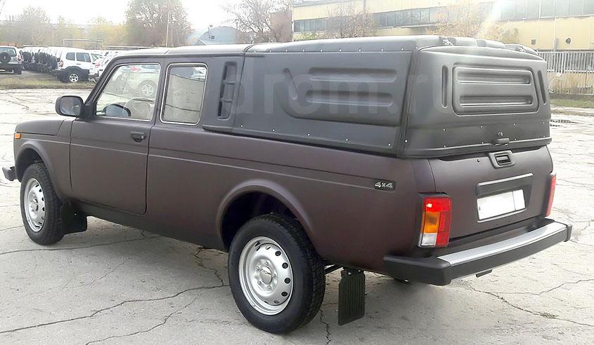 Восстановленный пикап ВАЗ-2329