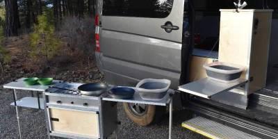 Van Kitchen превращает любой фургон в кемпер