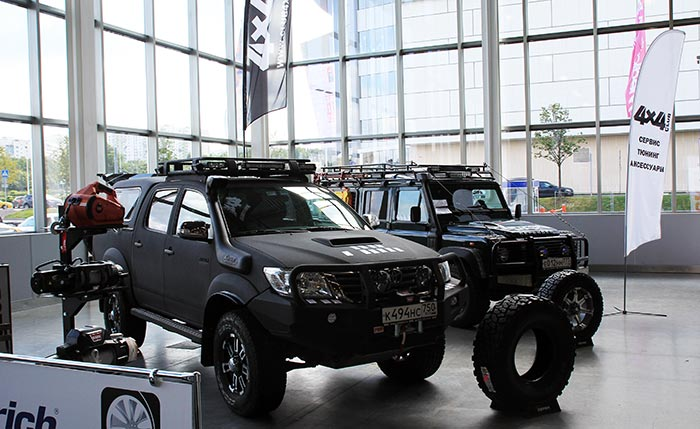 Выставка «Moscow off-road show 2017»
